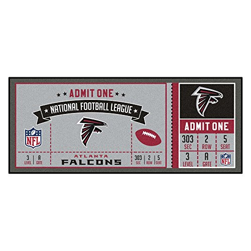 Falcons NFL-Atlanta Falconsticket Runner, Team Color, One Size ()