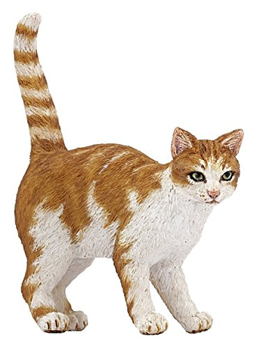 Wildcat Figurine - Papo Dog and Cat Companions Figures, Red Cat