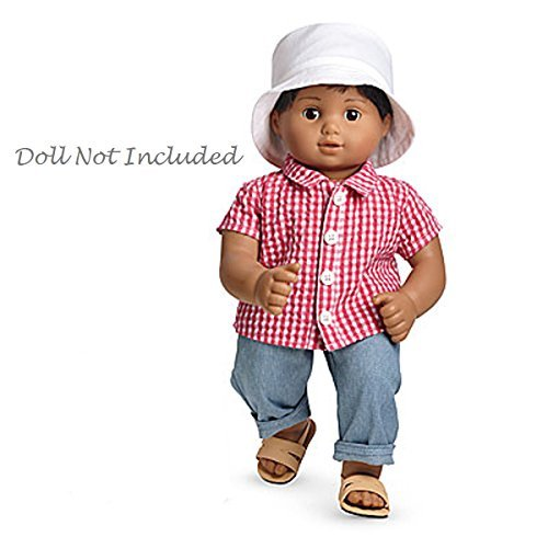 "American Girl Bitty Twin Beachcomber Outfit for 15"" Dolls In Package (Doll Not Included)"