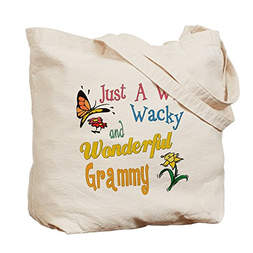 CafePress–Wild Wacky Grammy–Borsa di tela naturale, panno borsa per la spesa
