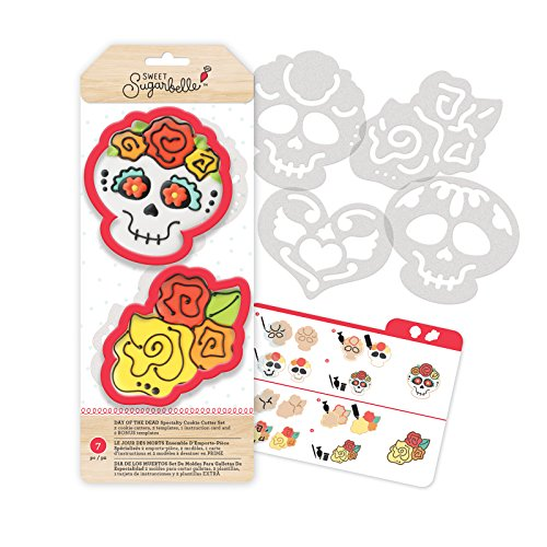 American Crafts Sweet Sugarbelle Cookie Cutters Day of The Dead 7 -