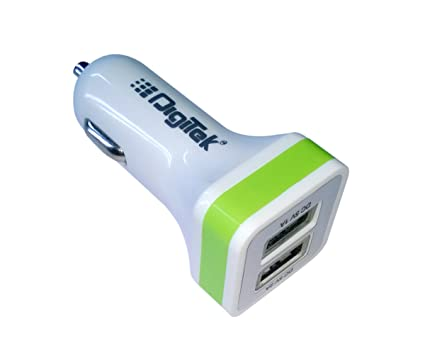 e69fe5bbcf8 Digitek 009 Dual USB 2.1 A DMC Car Charger: Buy Digitek 009 Dual USB 2.1 A  DMC Car Charger Online at Low Price in India - Amazon.in
