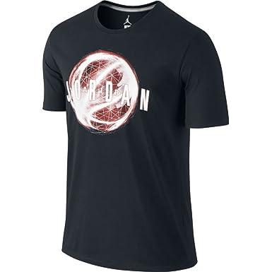 best website e98fb bd9e4 Image Unavailable. Image not available for. Color  Jordan Mens Bball  Dri-Fit Tee T-Shirt X-Large Black