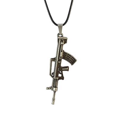 Sarah gun pendant locket for men jewelry amazon jewellery sarah gun pendant locket for men jewelry mozeypictures Images