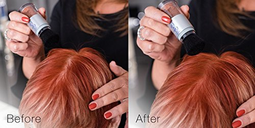 Color Lift With Thickening Powder Available In 8 Hair Colors Root Cover Up Temporary Hair Coloring Brush That Refreshes Hair