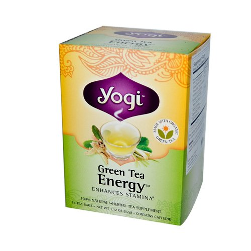 yogi green tea energy - 2