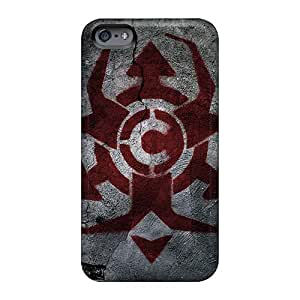 Bumper Cell-phone Hard Covers For Iphone 6plus With Unique Design Realistic Chimaira Band Pictures TammyCullen