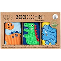 Zoocchini【日本正品】运动裤 有机棉Boys 3件装 恐竜の仲間 3-4歳