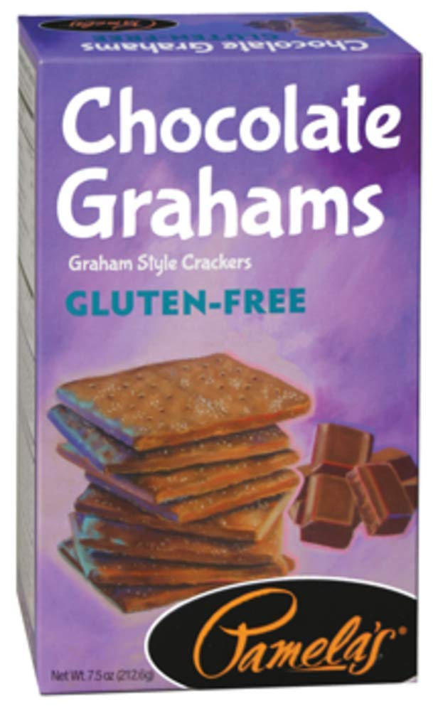 Pamela's Products Gluten Free Graham Crackers, Chocolate, 6 Count by Pamela's Products by Pamela's