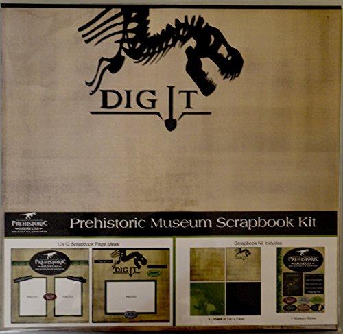 Prehistoric Dinosaur Museum Scrapbook Kit (Utah Scrapbook Kit)