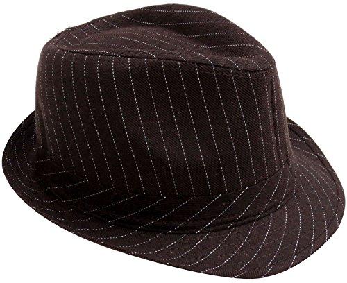 Simplicity-Men-Women-Manhattan-Structured-Gangster-Trilby-Wool-Fedora-Hat