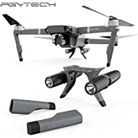 PGYTECH Night Flight Lights LED Light Lamp +Landing Gear Skid for Mavic PRO RC Drone