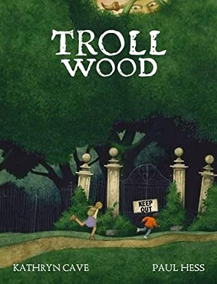 book cover of Troll Wood
