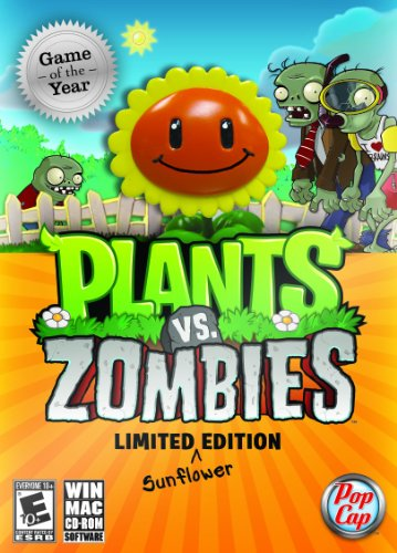 Plants Vs. Zombies - Game of the Year - Limited Edition (Sunflower) - PC/Mac (Popcap Games Ds)