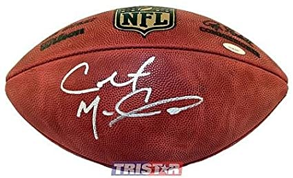 8754a6e59 Colt McCoy Autographed Football - Tristar Productions Certified -  Autographed Footballs