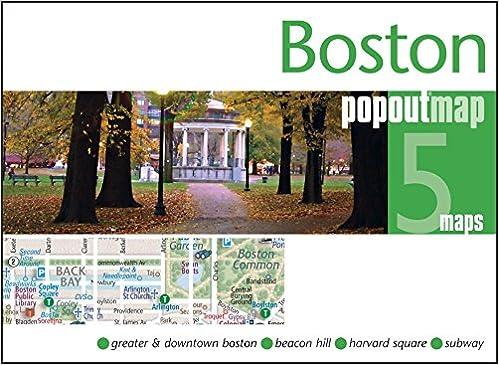 Kostenloses Handy-Ebook zum Herunterladen Boston PopOut Map ...
