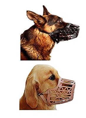 Basket Cage Dog Muzzle