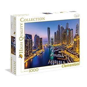 Clementoni 39381 High Quality Collection Puzzle Dubai 1000 Pezzi