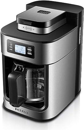 KOUDAG Cafetera Máquina de café Inicio Granos de molienda Totalmente automáticos Molienda Estilo Americano hervido Cocinar cafeteras: Amazon.es: Hogar