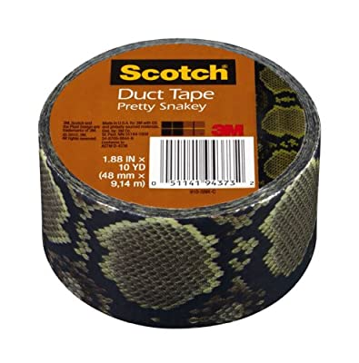 Scotch 910-SNK-C Snake Skin Multi Purpose Duct Tape, 10-Yards by 1-7/8-Inch, 1 Roll from 3M CHIMD