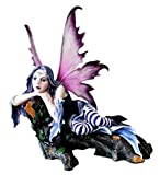 Large Beautiful Tribal Eon Fairy Daydreaming Of Long Lost Love Statue Sculpture