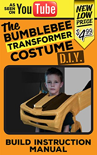 Bumblebee Transformer Costume DIY: Transforming Bumblebee Cosume -