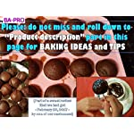 BA-PRO JNXD-119, 20-Cavity Ball Shape Baking Mold, Muffins Cupcakes Cookware Silicone Set, Best for Brownies, Pies, Lollipops, Candies, Jelly and Chocolate, Ice Cream Tray, 228/186/40mm (L/W/H), Pink 12 BAKING EXPERIENCE with ZERO FRUSTRATION It's Humongous: a Multi-Use Cookware of Sturdy yet Flexible Double Tray Cupcake Pan that Will Carry All Baking Endeavors with Embarrassing Ease and Effortless Comfort. Elegant Shape, Available Here in Our USA Stock