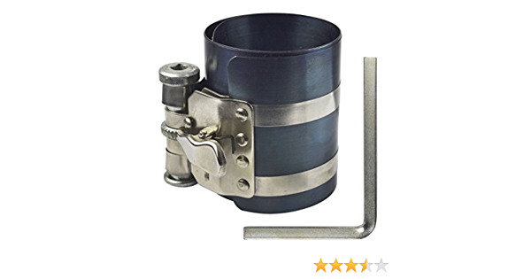 175mm Piston Ring Compressor with Stainless Steel Clamp 100mm Height AB Tools-Toolzone 75mm
