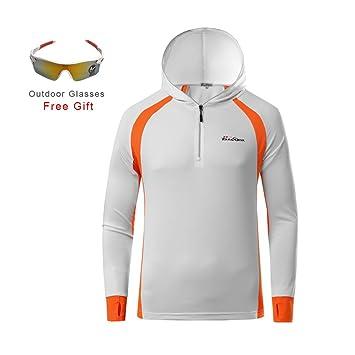 RGTOPONE Manga larga para hombre Jersey de ciclismo transpirable Ropa deportiva impermeable Ropa deportiva de secado