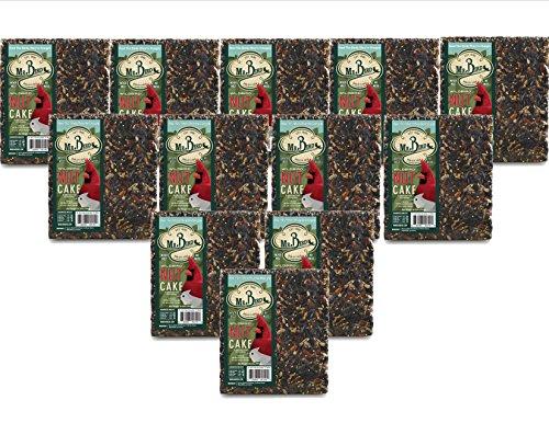 12-Pack of Mr. Bird WildBird Nut Cake XL Wild Bird Seed Cake 1 lb. 12 oz.
