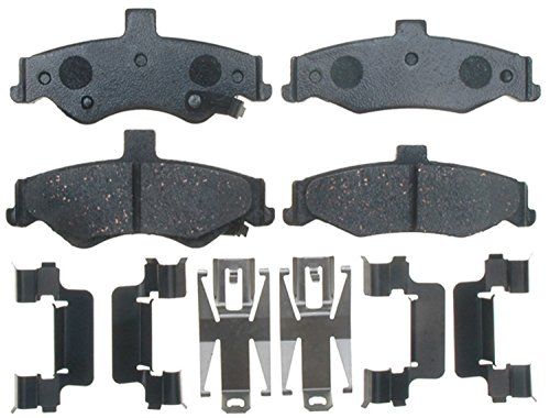 ACDelco 17D750CH Professional Ceramic Rear Disc Brake Pad Set