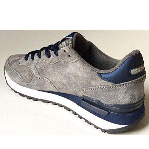 da Corsa Basso Uomo Mallimoda Unisex Sneaker Grigio A Collo Ginnastica Scarpe xE64nSf