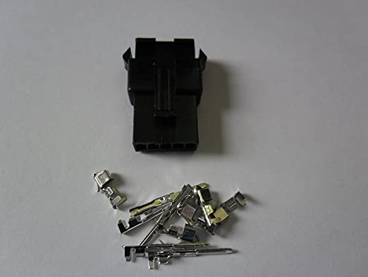 "Molex //JST//bullet connector Electric bike 8 pin 500-1500Watt 60/"" wire /& spring"