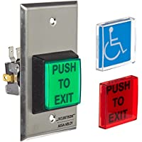 Push to Exit Button, SPDT, Momentary, 5A