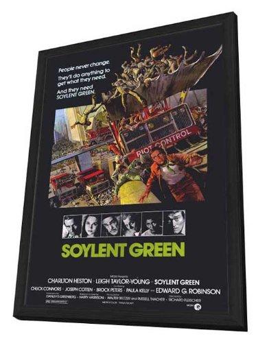 Soylent Green - 27 x 40 Framed Movie Poster