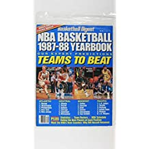 BASKETBALL DIGEST 1987-88 NBA BASKETBALL YEARBOOK TEAMS TO BEAT JOHNSON,BIRD WOW