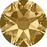 2000, 2058 & 2088 Swarovski Flatback Crystals Non Hotfix Light Colorado Topaz | SS12 (3.1mm) - Pack of 1440 (Wholesale) | Small & Wholesale Packs | Free Delivery