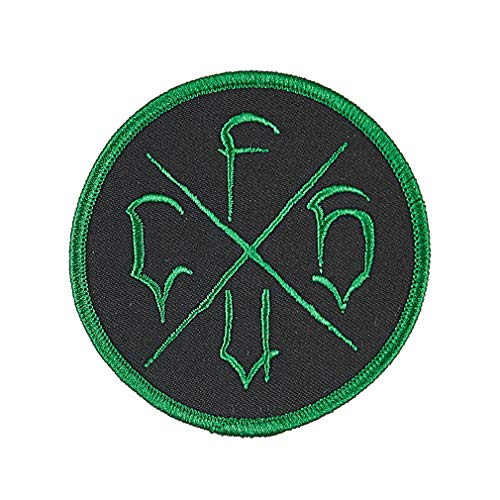 Creature Skateboard Patch CSFU Logo Embroidered Iron/Sew On