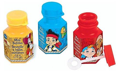 DesignWare Amscan AMI 398488 Jake and The Neverland Pirates Mini Bubbles for (Pirate Ideas Costumes)