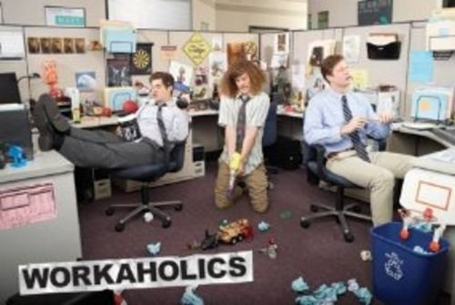 Workaholics - Office TV Poster 36 x 24in