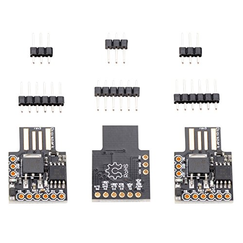 Price comparison product image Toogoo 3x Digispark Kickstarter Micro-USB Development Board for Arduino Attiny85