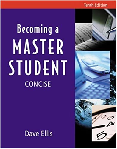 Becoming a master student tenth edition concise dave ellis becoming a master student tenth edition concise 10th edition fandeluxe Gallery