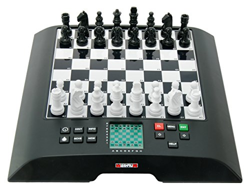 Millennium Model M810 ChessGenius Large Chess Computer Black 1 (Best Chess Computer Game)