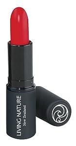 Living Nature Lipstick - Wild Fire I Organic I Cruelty-Free