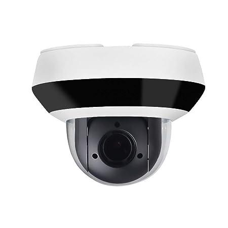 4MP PTZ POE IP Camera OEM DS-2DE2A404IW-DE3, Pan Tilt 2.8mm 12mm 4X Optical Zoom, 4-Megapixel 2560×1440 ,Night Vision 20m,SD Card Recording,Outdoor Home Audio Input Output,IP66 and IK10, H.265