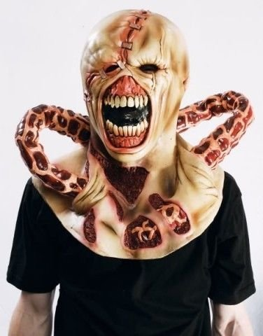 (SOPHIE Nemesis Resident Evil Latex Mask Zombie )
