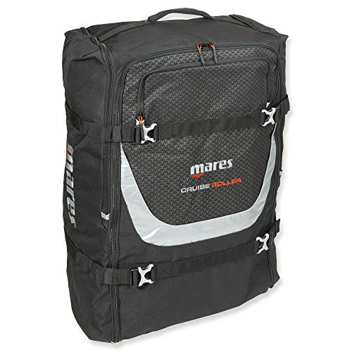Mares Cruise Mesh Backpack Deluxe (Black, Cruise Backpack Roller)