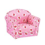 Kids Armchair Children's Tub Chair Pink Rose Girl Boy Mini Armchair Nursery Seat Stool Seating Chair Sofa for Bedroom Playroom