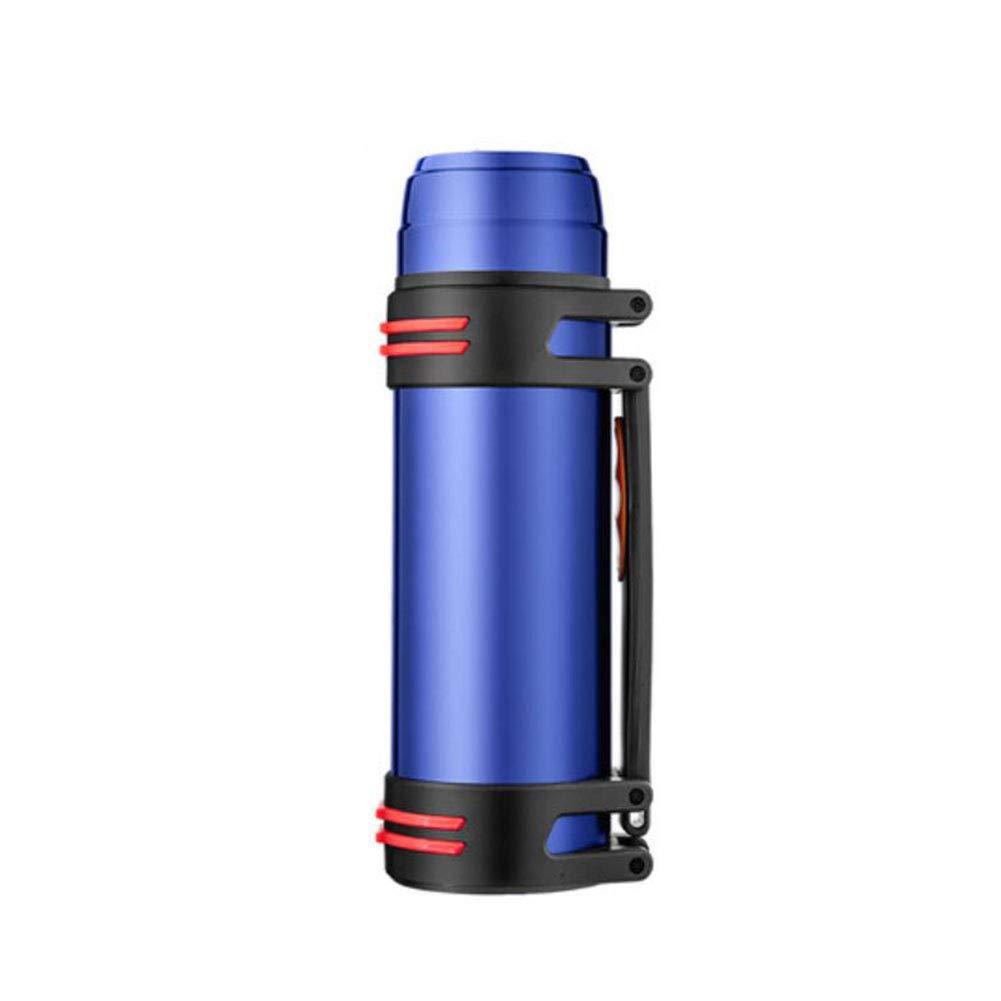 F & H FH Edelstahl-Vakuumflasche-große Kapazitäts-tragbarer Reise-Isolierungs-Topf-Haushalts-Wasserkocher im Freien heiß
