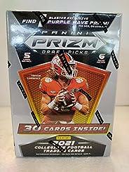 2021 Panini Prizm Draft Football Blaster Box (6 pks/bx)